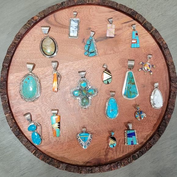 Southwestern Handmade Sterling Silver Pendants